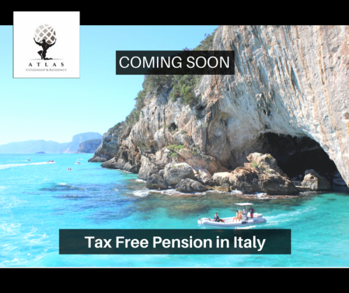italian tax free pension